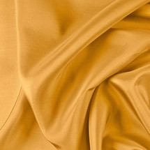 "Mustard China Silk Lining - 60"" wide polyester lining fabric"