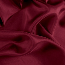 "Burgundy China Silk Lining - 60"" wide polyester lining fabric"