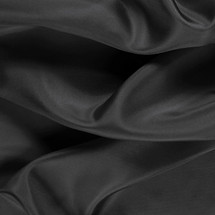 "Black China Silk Lining - 60"" wide polyester lining fabric"