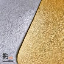 Gold Silver Metallic Marine Vinyl Fabric Bulk