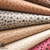 Pebble Faux Leather Animal Prints Upholstery Fabric