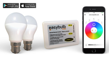 2 Easybulb RGB and 1 Wifi Box + 2 Years Warranty