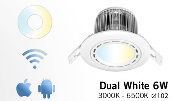 Easybulb Downlight 6W White Light 600 Lumens