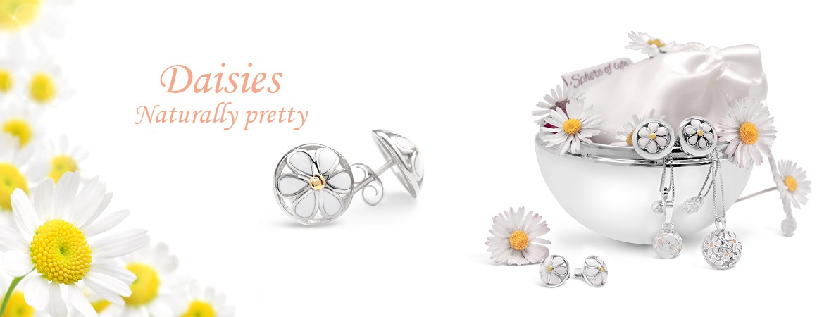 Sphere of Life Jewellery- Silver Daisy Necklace lgOuOQ2