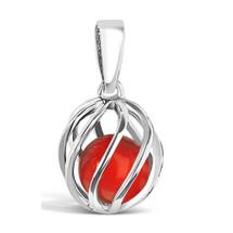 Celebrate a July birthday with a Cornelian birthstone necklace! Twist version