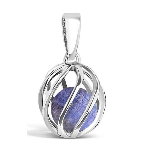 Celebrate a December birthday with a Lapis Lazuli birthstone necklace! Twist version