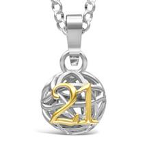 21 - Go Girl! - sterling silver pendant