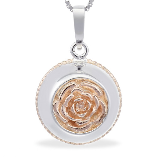 English rose - Always a lady (rose gold)