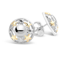 My Shining Star - Silver Stud Earrings