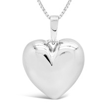 Love, sterling silver pendant