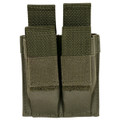 Military Tactical Quick Deploy Dual Mag MOLLE Pouch OD