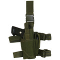 Tactical Commando Leg Holster for Lights & Lasers - OD