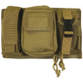 Tactical Triple Panel MOLLE Pouch for Mags Lights