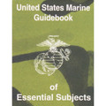 US Marine GUIDEBOOK of Essential Subjects Manual Book