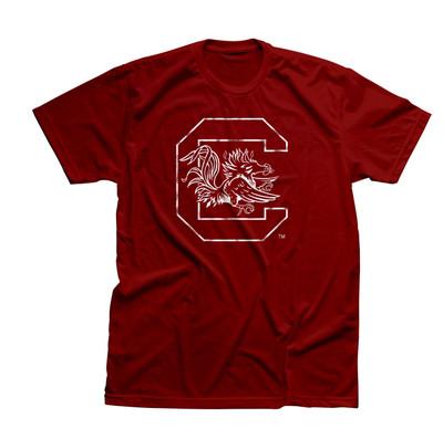 South Carolina Gamecock Block C T-shirt
