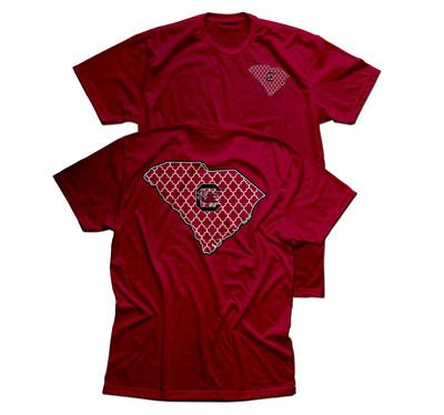 South Carolina Gamecocks Quadra foil T-shirt