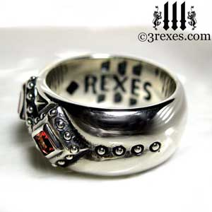 3-kings-wedding-ring-mens-silver-gothic-band-red-garnet-stone-side-3-rexes-jewelry