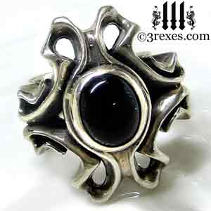empress-gothic-ring-925-sterling-silver-black-onyx-statement-jewelry-3-rexes-jewelry