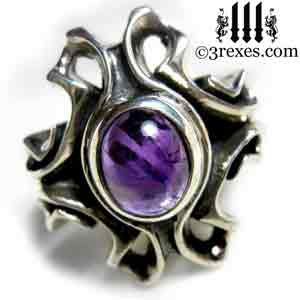 empress-gothic-ring-925-sterling-silver-purple-amethyst-february-birthstone-statement-jewelry-3-rexes-jewelry