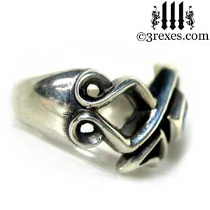 mens-bohemian-z-ring-celtic-silver-band-side-3-rexes-jewelry