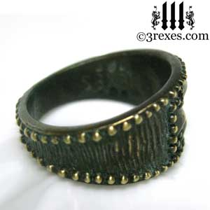 mens-studded-iron-cross-ring-knights-templar-band-dark-brass-side3-rexes-jewelry