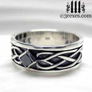 soul-love-celtic-wedding-ring-925-sterling-silver-black-diamond-band