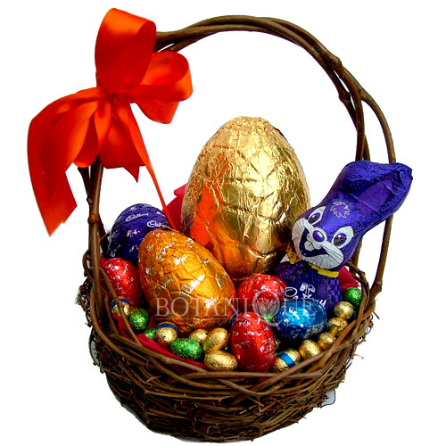 Easter flowers and gifts botanique flowers by tina gold coast bunnies egg basket easter hampers gold coastg negle Image collections
