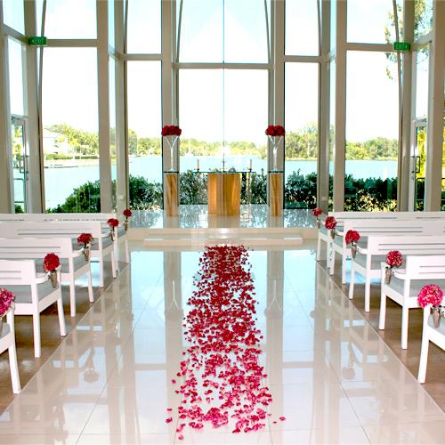 Chapel Flowers Rose Petals Pew Ends Altar Arrangements