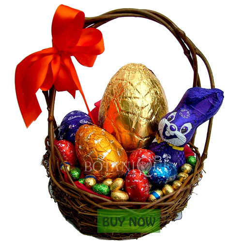 Flowers online gold coast easter flowers and gifts botanique easter bunny chocolate hamper online gold coast australia negle Image collections