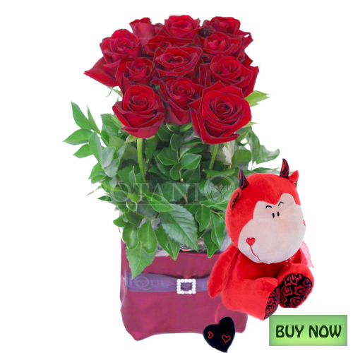 Flowers gold coast valentines day flower delivery for Buying roses on valentines day