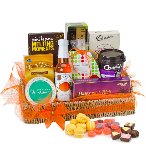 Easter hampers botanique flowers by tina gold coast australia sweet satisfaction easter hampers gold coastg negle Images