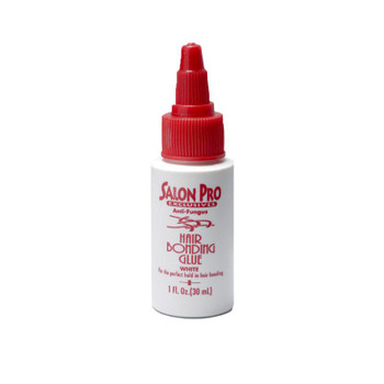 Salon Pro white bonding glue, Made from natural Rubber Latex, is perfect for fitting wefts