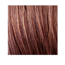 "18"" Nail Tip Human Hair Extension 1g - #4 Brown"