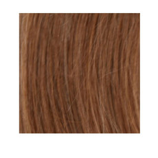"20"" Nano Tip 100% Human Hair Extensions 1g - #8 Light Brown"