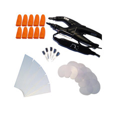 31 Piece Temperature Controlled Fusion Heat Iron Kit - Black #1