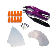 31 Piece Temperature Controlled Fusion Heat Iron Kit - Purple
