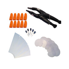 31 Piece Consistant Fusion Heat Iron Kit - Black