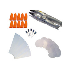 31 Piece Consistant Fusion Heat Iron Kit - Silver