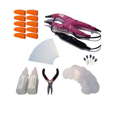 34 Piece Temperature Controlled Fusion Heat Iron Kit - Purple