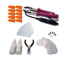 34 Piece Temperature Controlled Fusion Heat Iron Kit - Hot Pink #2