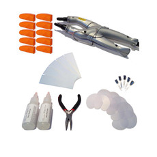 34 Piece Consistant Fusion Heat Iron Kit - Silver