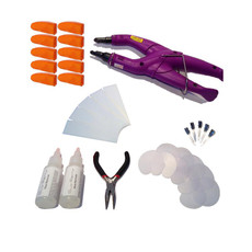 34 Piece Consistant Fusion Heat Iron Kit - Purple