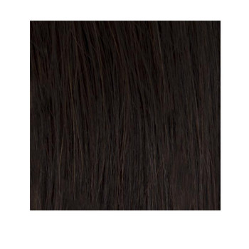 "14"" Double Drawn Nano Tip 100% Human Remy Hair Extensions - #2 Dark Brown"