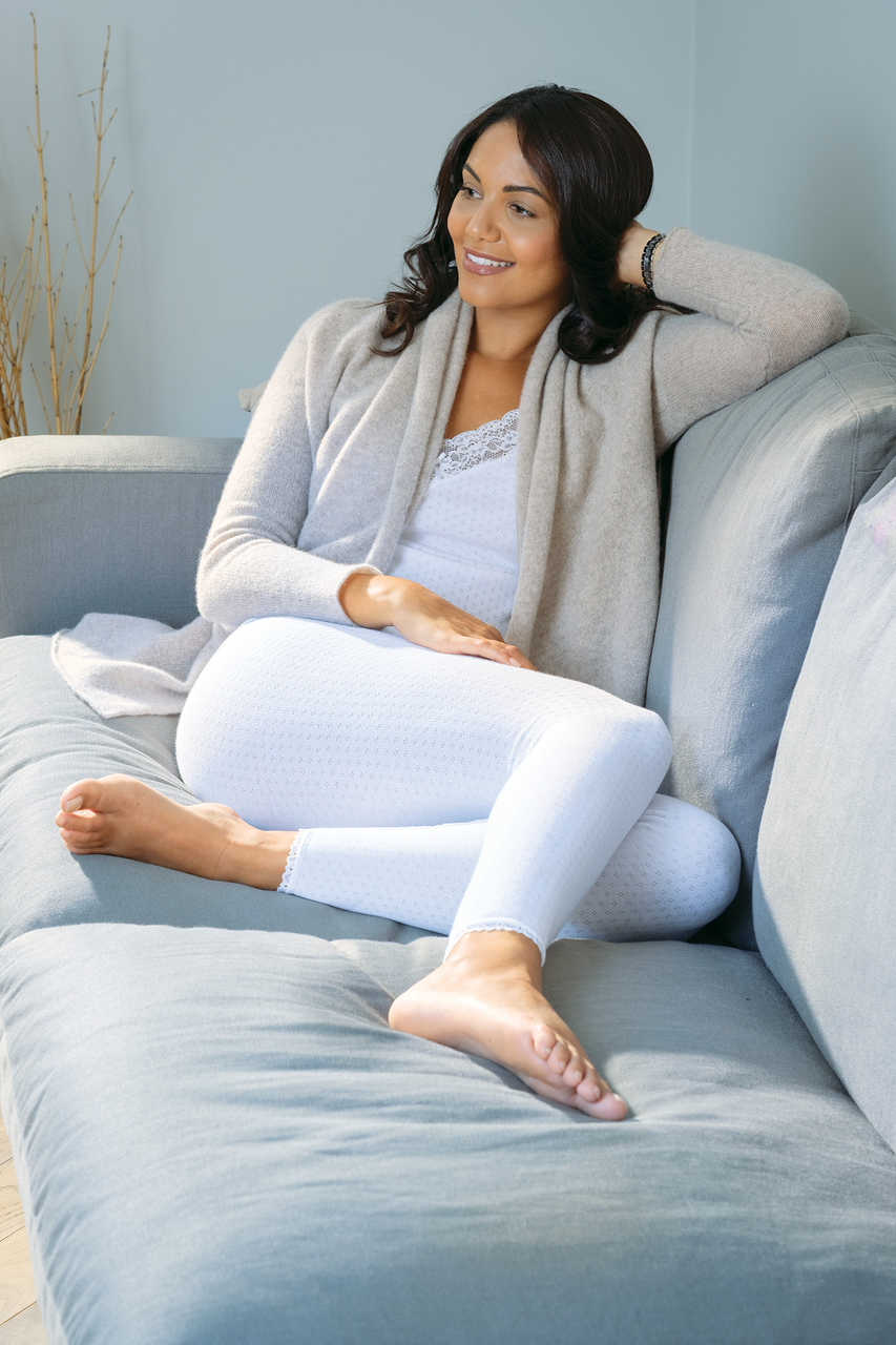 Womens Brushed Thermal Long Johns