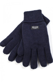 Navy Thinsulate Gloves by Vedoneire (3006)