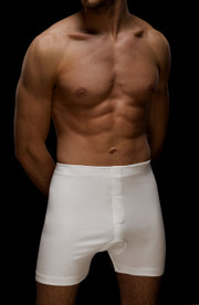 Mens Classic White Trunks by Vedoneire (2197).