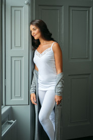 Womens Brushed Cami Vest by Vedoneire of Ireland