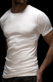 Mens 2 pack Cotton Classic Tee Vest by Vedoneire