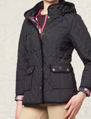 Women's Quilted Jacket (5038) Navy