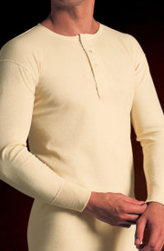 Mens 3/4 Sleeve Cotton Vest
